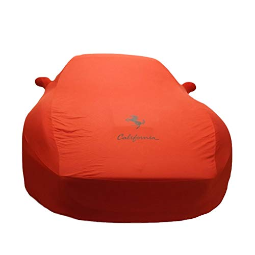 (BAOYUANWANG Chezhao (for Ferrari) Custom Version Orange car Cover Velvet Stretch Clothing (Basement, auto Show, car Dealer) Dedicated (Color : Orange, Size : Enzo))