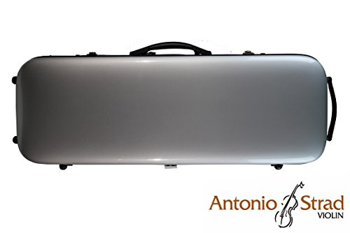 Horizon Carbon Fiber Viola Case - Gray. Only 5 lbs!