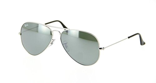 Ray Ban RB3025 W3277 58 Silver/Gray Mirror Large Aviator Bundle-2 - Rb3025 W3277