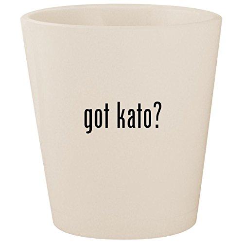 got kato? - White Ceramic 1.5oz Shot Glass