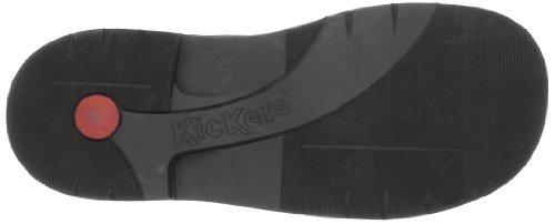 Kickers Kick Col Perm, Schnürschuh Unisex Kinder Dunkelbraun