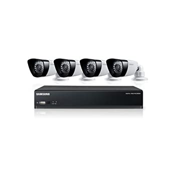 Samsung Sds P3040 All In One Security Kit 4 Channel Dvr Security