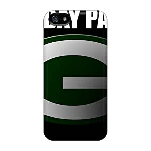 Iphone 5/5s Zjj8864iwpg Provide Private Custom Realistic Green Bay Packers Pictures Scratch Protection Hard Phone Case -InesWeldon