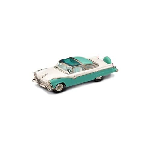 1955 Ford Crown Victoria Green 1/43 Diecast Car Model by Yat Ming 94202 by Road Signature