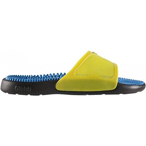 piscina unisex da X Grip Black Marco Yellow Arena Ciabatte Turquoise w1qapyX