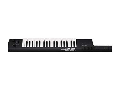Photo Yamaha Sonogenic Keytar with Power Supply, Strap, and MIDI Cable, Black