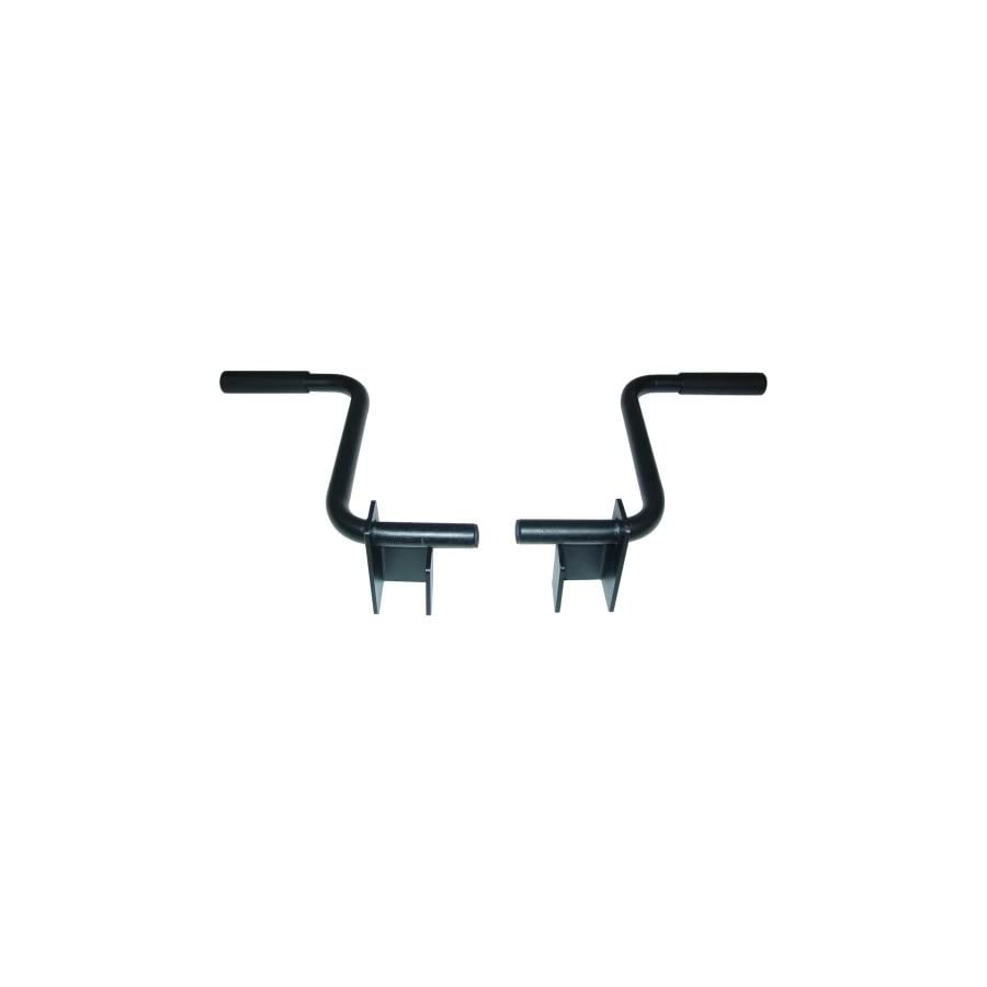"Valor Fitness MB B Dip Handle Accessory Set for BD 11, BD 20 and BD 41 (fits 2.5"" tubing)"