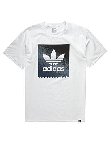 adidas Blackbird Gradient T-Shirt, White, X-Large