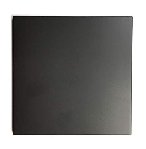 (8.75 x 8.75 Cafe De Paris Matte Black Porcelain Tile Floor Wall (Sold per)