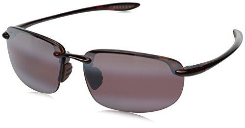 Maui Jim Unisex Ho'okipa Universal Fit Tortoise/Maui Rose Sunglasses