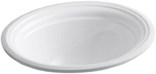 KOHLER K-2350-0 Devonshire Under-Mount Bathroom Sink, -
