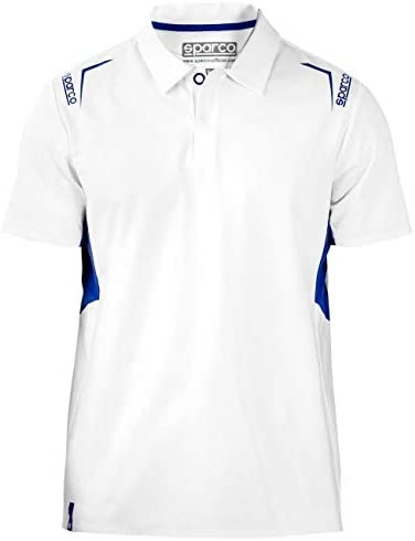 Sparco Polo Blanc Taille L