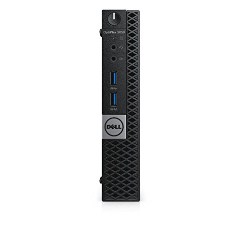 Dell OptiPlex 7060 Micro Form Factor Desktop Computer, Intel Core i7-8700T, 16GB DDR4-2666 (2x8GB), 512GB NVMe Solid State Drive, Windows 10 Pro, with Dell 3-Year NBD Warranty