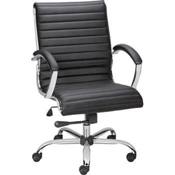 Amazon Com Staples Bresser Luxura Managers Chair Black
