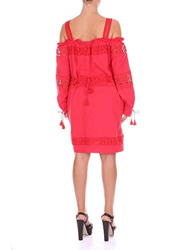 S18c03296red Rosso Donna Suncoo Cotone Vestito SqwH6fvag
