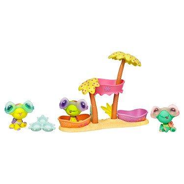 Littlest Pet Shop Hasbro Trillizas Gatos - Mascota de juguete (3 unidades)