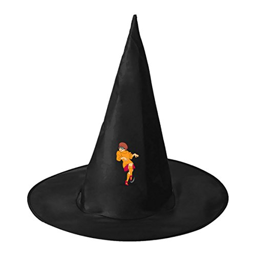 Velma And Shaggy Halloween Costumes (Halloween Wizard Hat Velma Dinkley Kids Adult Black Witch Hats Personalizes Costume Accessory)