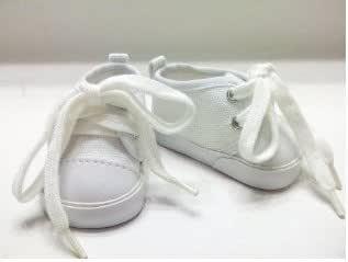 Wholesale Doll Clothes White Canvas