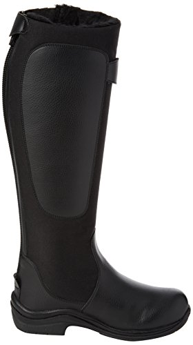TOGGI Chinook Fleece Lined Boot, Stivali da Equitazione Unisex-Adulto Nero (Black)