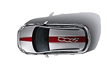 Fiat 500x Red Sticker For Roof And Bonnet Original 50927498