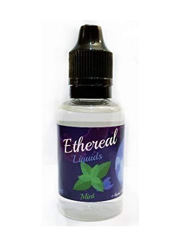 Vape Juice Ethereal Aromatherapy, 0 Mg Nicotine 30 Ml 100% Nicotine And Tobacco Free E Liquid. (Mint) by Ethereal
