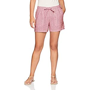 Amazon Essentials Women's 5″ Drawstring Linen Short