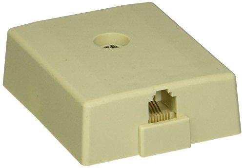 RCA TP267X Phone Modular Wall Jack (White)