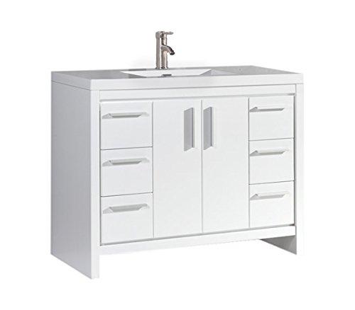 Furniture Veneer Ensembles (MTD Vanities MTD-MI48W-N 47