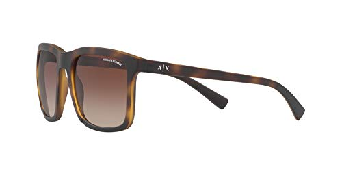 hombre Hombres inyectadas Armani X A para Gafas sol de Exchange FwaW8