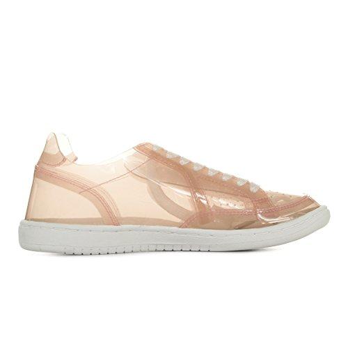 Sportif Coq Sneakers Fine Le Icons W Rose f5qdnTwS