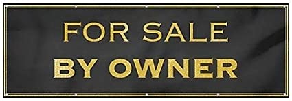 Classic Gold Heavy-Duty Outdoor Vinyl Banner CGSignLab for Sale by Owner 12x4