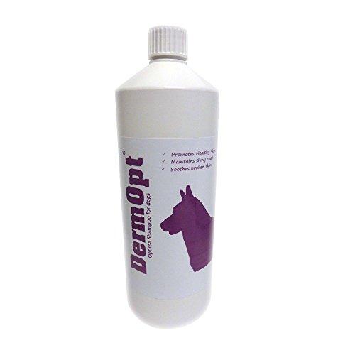 DermOpt® Optima Dog Shampoo für gesundes Weiche Haut und glänzendes Fell Coat, Best Shampoo für juckende Hunde
