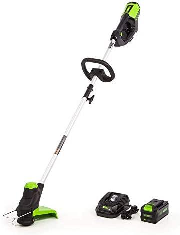 Greenworks 12-Inch 40V Cordless String Trimmer, 3AH Battery and Charger Included, ST-120 Renewed