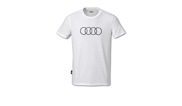Talla S Audi collection 313170091 Polo para Hombre Color Gris Oscuro