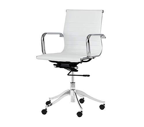 Sunpаn Mоdеrn Tyler Full Back Office Chair, Snow