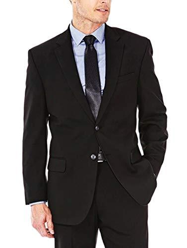Haggar Men's J.m Premium Classic Fit Suit Separate Coat (48R, Black)