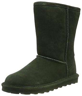 BEARPAW Women's Elle Short Winter Boot (.10 M US, Forest)