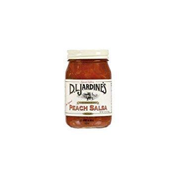 - Jardines Peach Medium Salsa (Economy Case Pack) 16 Oz Jar (Pack of 6)