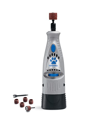 Trim Cats Nails - Dremel 7300-PT 4.8V Pet Nail Grooming Tool