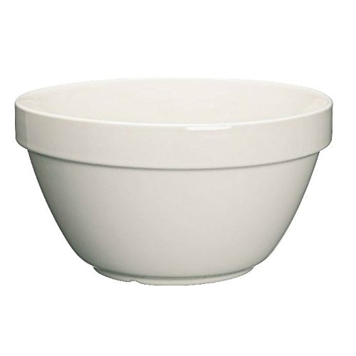 Kitchen Craft Pudding Basin Traditional 1.5Litre 20cm - Ceramic (Pack of 2)