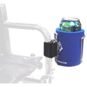 Cage Clip-On Cup Holder for Walker and Wheelchair W/Jacket 16051