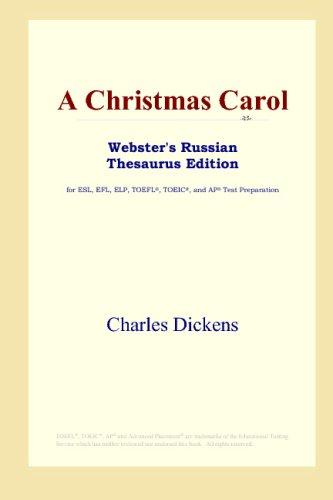 A Christmas Carol (Webster's Russian Thesaurus Edition) (Russian Carol Christmas)