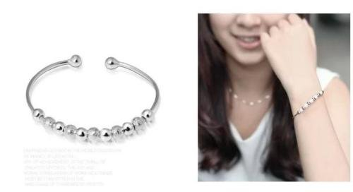Womens Transfer Sterling Silver Bracelet