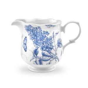 Botanic Blue Jug/Cream, 8 (Blue Cream Jug)