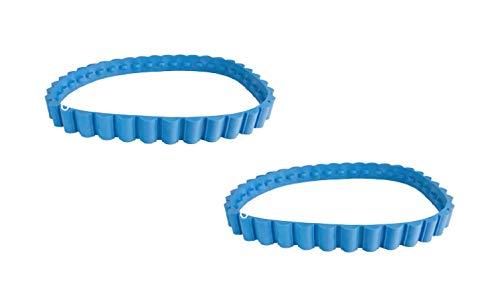 Tomcat Parts Drive Tracks (Pair) Blue Replacement For Aquabot Part Number 3201