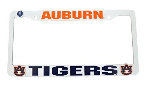 Official NCAA Fan Shop Authentic Plastic License Plate Frame (Auburn Tigers) (Car Accessories Auburn)