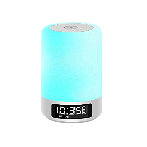 Globe Led Clock Night Light