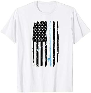 ⭐️⭐️⭐️ American flag fishing shirt vintage fishing tshirt Gift Need Funny Short/Long Sleeve Shirt/Hoodie
