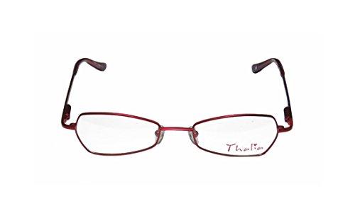Thalia Vibi Womens/Ladies Rx Ready New Collection Designer Full-rim Flexible Hinges Eyeglasses/Glasses (45-17-125, (Atlanta Braves Skin Suit Kids Costume)
