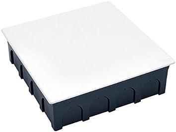 Famatel 3204 - Caja empalme cuadrado 200x200 fijación garra: Amazon.es: Bricolaje y herramientas